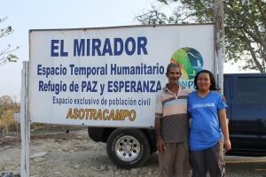 At the Humanitarian Space El Mirador